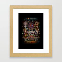The Owl Is Lost Framed Art Print