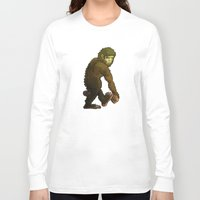 bigfoot Long Sleeve T-shirts featuring Bigfoot by JoJo Seames