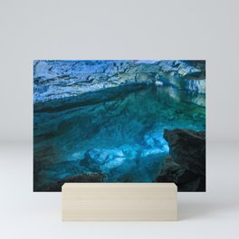 The underground lake Mini Art Print