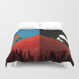 Sun & Moon Duvet Cover