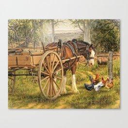 A Little Bit Country Canvas Print