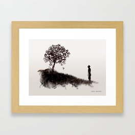 Roots of the Earth Framed Art Print