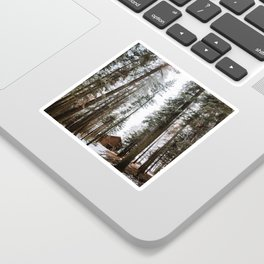 Cabin in the Woods Sticker