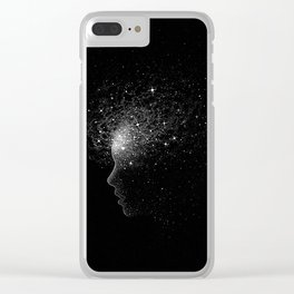 peace of mind Clear iPhone Case