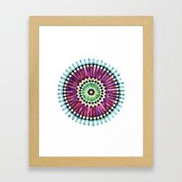IG Mandala Framed Art Print