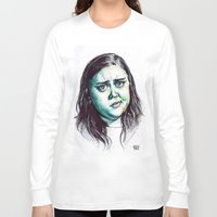my mad fat diary Long Sleeve T-shirts featuring My Mad Fat Diary - Rae Earl by Sara (aka Wisney)