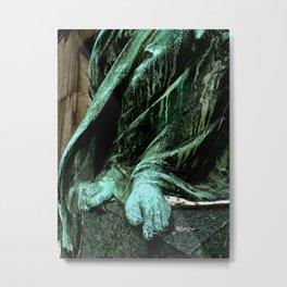 Statue #5 Metal Print