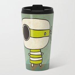 Green Pirate Travel Mug