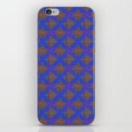 Great Heritage - Blue at Tweed iPhone Skin