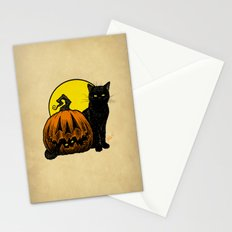 Still Life with Feline and Gourd Stationery Cards