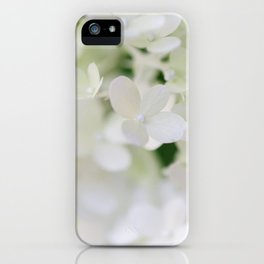 Hydrangea in Full Bloom -Flower Photography iPhone Case