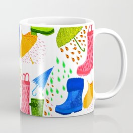 Gumboots and Puddles Coffee Mug