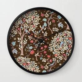 """William Morris """"Kelmscott Tree"""" 3. Wall Clock"""