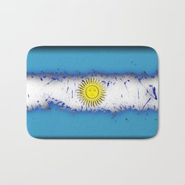 in to the sky, Argentina Bath Mat