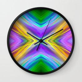 summer rings mirror Wall Clock