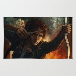 Katniss Everdeen Rug