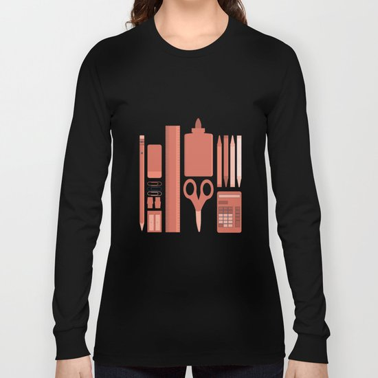 School House Monotone Long Sleeve T-shirt