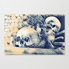 Church of Bones Canvas Print