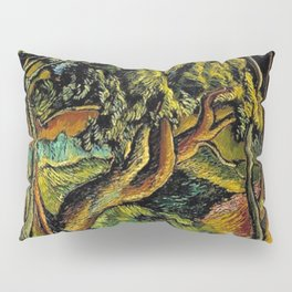"African American Classical Masterpiece ""Burden of Racism in the 20th Century"" by Hale Woodruff Pillow Sham"