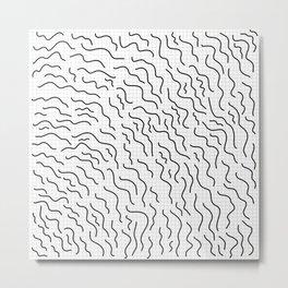 wiggles Metal Print