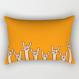 Born to rock Rectangular Pillow