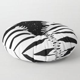 Zipper hand Floor Pillow