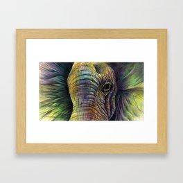 Elephaceted Framed Art Print