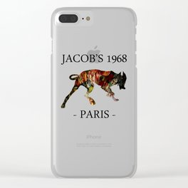 Mad Dog II Contour White Colors Jacob's 1968 urban fashion Paris Clear iPhone Case