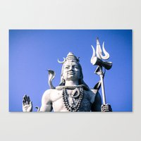 shiva Canvas Prints featuring Shiva by Gabriel Fox