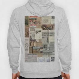 Vintage News Clippings Hoody
