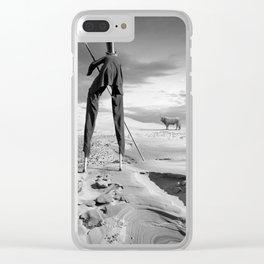 Buffalo Bill Clear iPhone Case