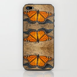 MONARCH OF ALL HE SURVEYS iPhone Skin