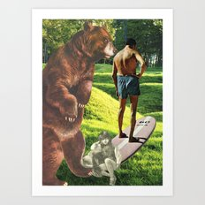 Don't Be Afraid To Take Chances, Young Or Old..... Art Print