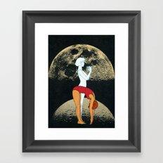 Lunar Effect Framed Art Print