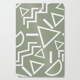 Shapes- lost and found Cutting Board