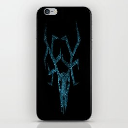 Wendigo ice blue iPhone Skin
