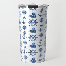 Ships Anchor Beach House Travel Mug