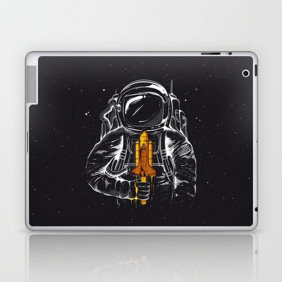 Space Popscicle Laptop & iPad Skin