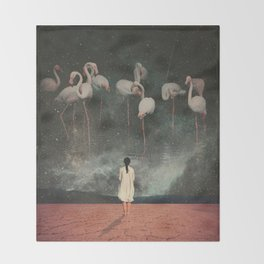 Hanging on to a Dream Throw Blanket