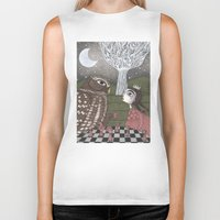 once upon a  time Biker Tanks featuring Once Upon a Time by Judith Clay