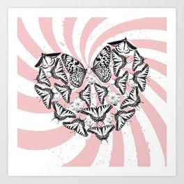 Love Conquers Hate Art Print