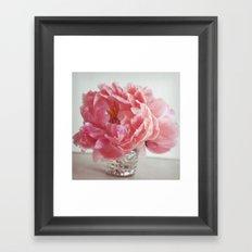 love pink Framed Art Print