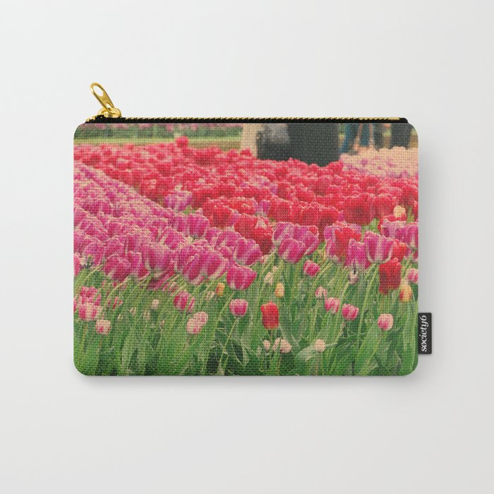 The dancing tulips Carry-All Pouch