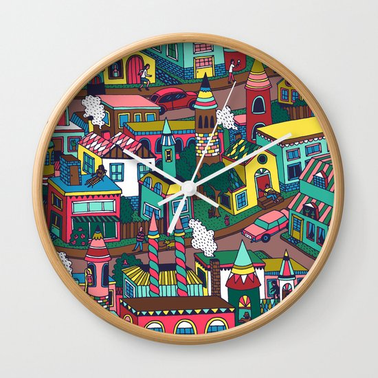 Good Morning! Wall Clock