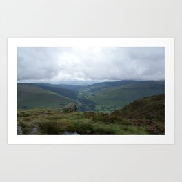 Wales Landscape 17 Cader Idris Art Print