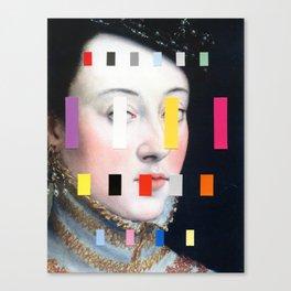 Portrait With A Spectrum 4 Canvas Print