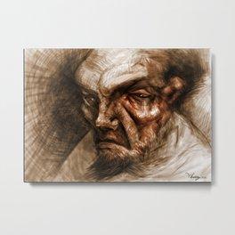 Wise Oldman Metal Print