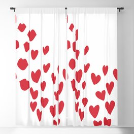 KisseS and HeartS Blackout Curtain