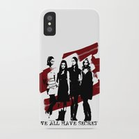 pretty little liars iPhone & iPod Cases featuring Pretty Little Liars by Rose's Creation