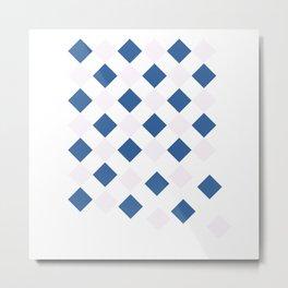 Pattern falloff Metal Print